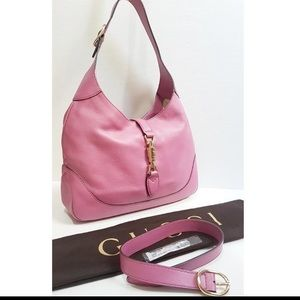 Gucci Jackie O Bouvier Hobo leather
